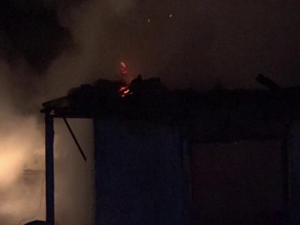 Incendiu casa din Botosani