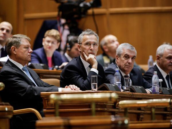 Iohannis, Stoltenberg, Tariceanu, Dragnea