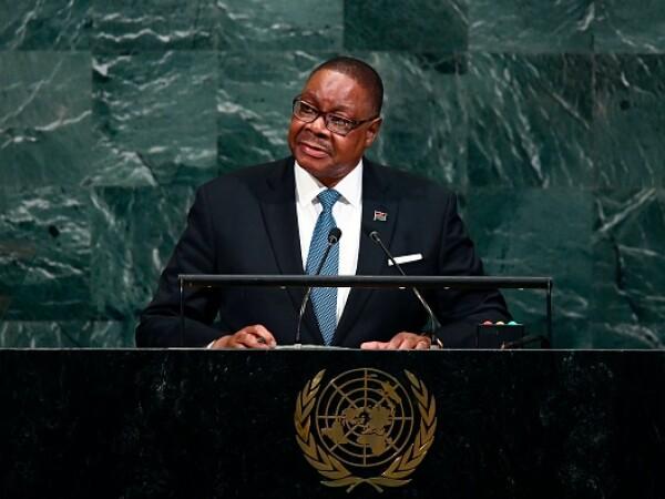 Peter Mutharika, președintele Malawi