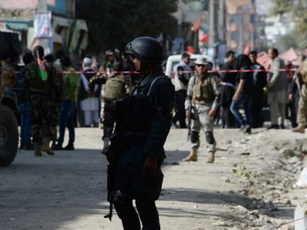 politie in Kabul