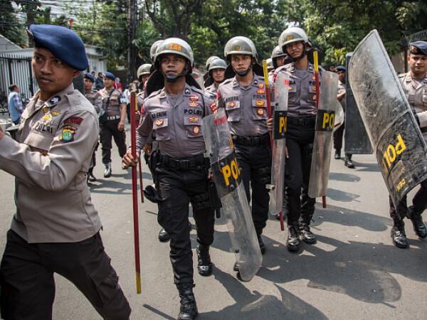 Poliția din Indonezia