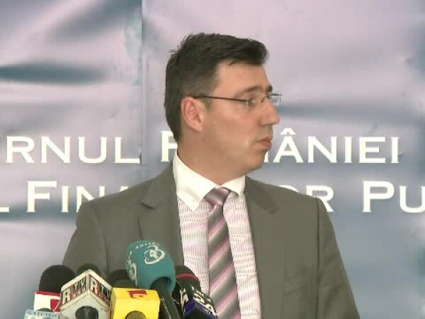 Ionut Misa, ministrul finantelor