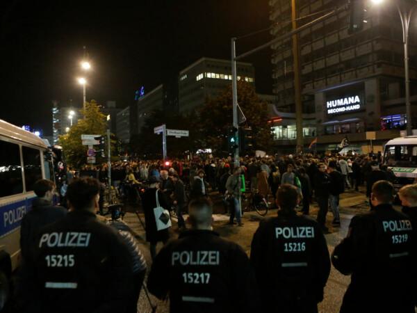 Proteste anti-nazism in Germania