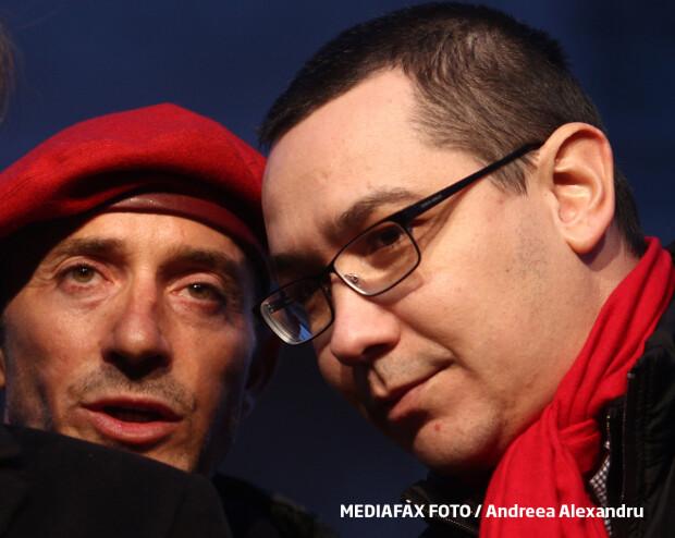 Radu Mazare si Victor Ponta