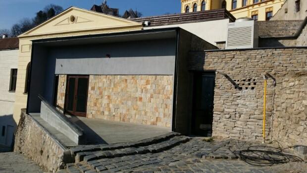 constructie modernista Sighisoara