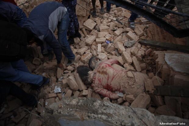 Cutremur in nepal video