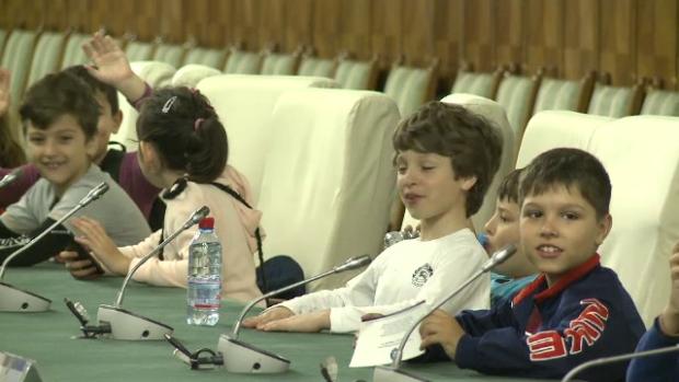 copii la Guvern