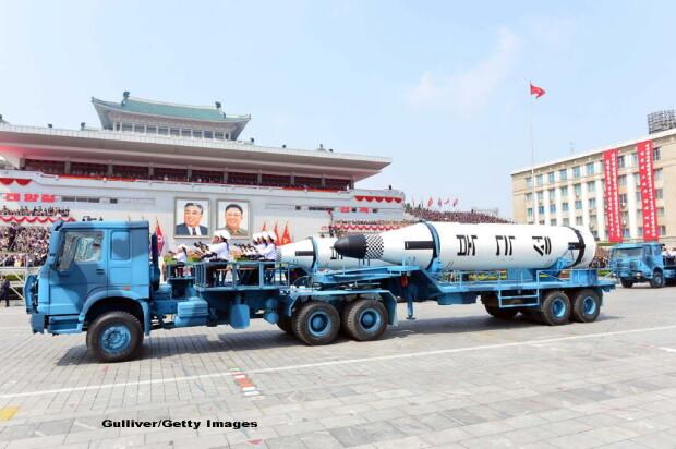 parada militara in Coreea de Nord - 4