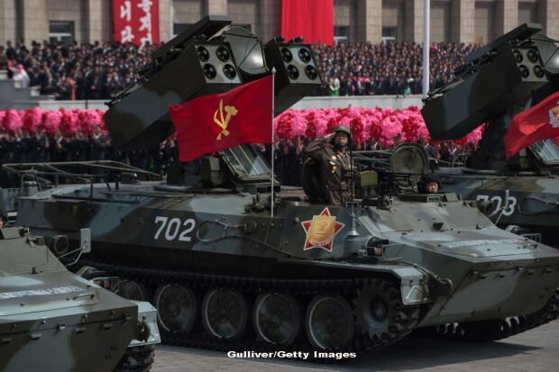 parada militara in Coreea de Nord - 5