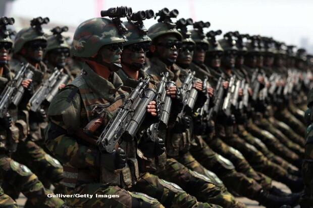 parada militara in Coreea de Nord - 7