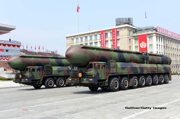 parada militara in Coreea de Nord - 8