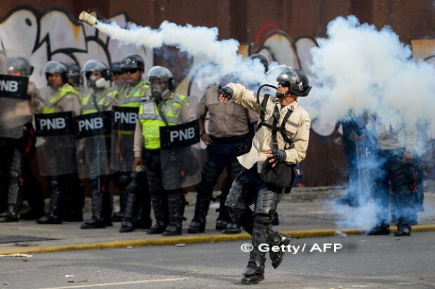 proteste venezuela - 1