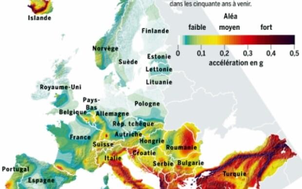 Harta seismica