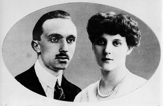 Principele René de Bourbon-Parma si a Principesei Margareta a Danemarcei