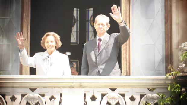Regina Ana si Regele Mihai