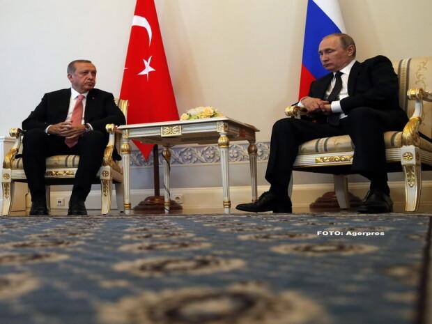 Recep Erdogan, Vladimir Putin