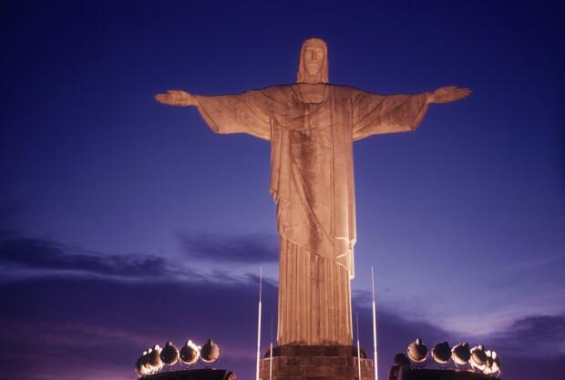 statuia lui Iisus Mantuitorul din Rio - Getty