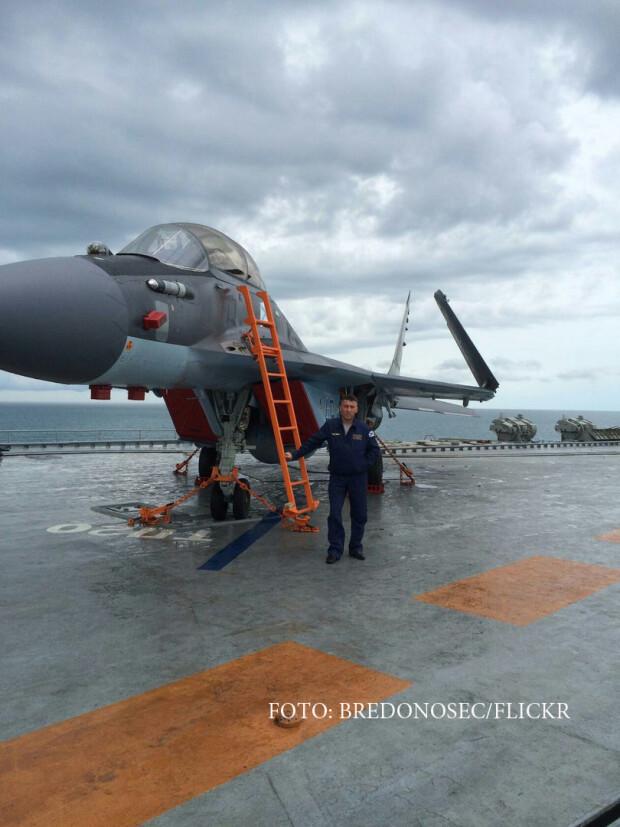Mig-29KR 49 pe portavion
