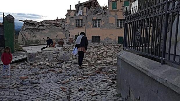 cutremur italia, agerpres