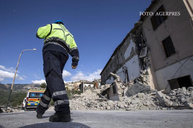 Accumoli dupa cutremur