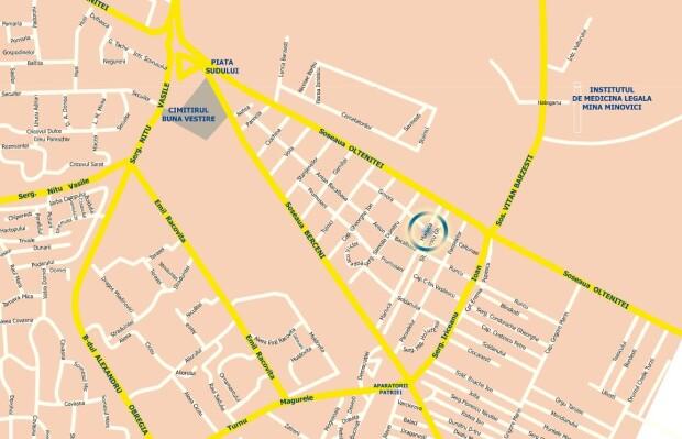 Harta magazin ANAF