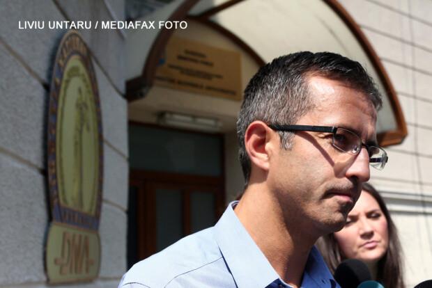 Dragos Benea, presedintele CJ Bacau, la DNA