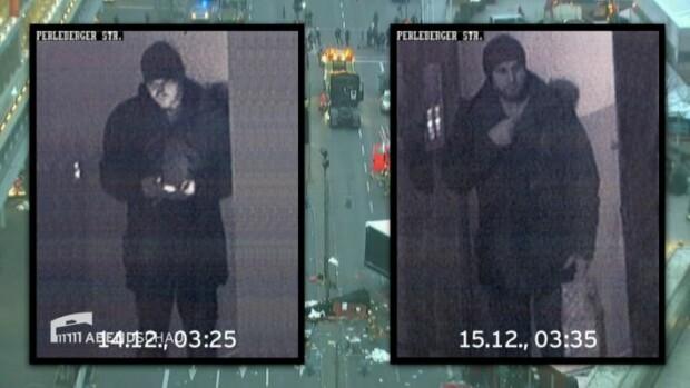 Anis Amri, imagini camera de supraveghere