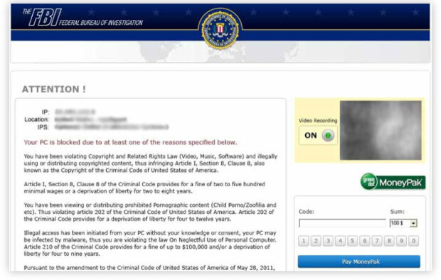 ranbsomware FBI
