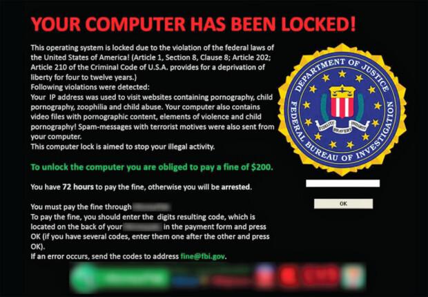 ransomware din SUA