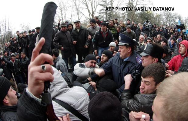 crimeea bataie Simferopol