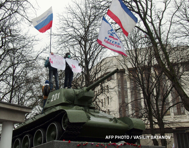 crimeea pro-rusi monument