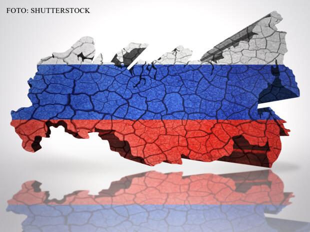 harta 3D Rusia