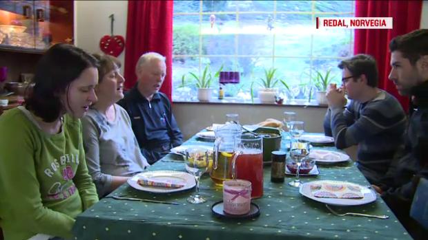 familia Bodnariu, Norvegia