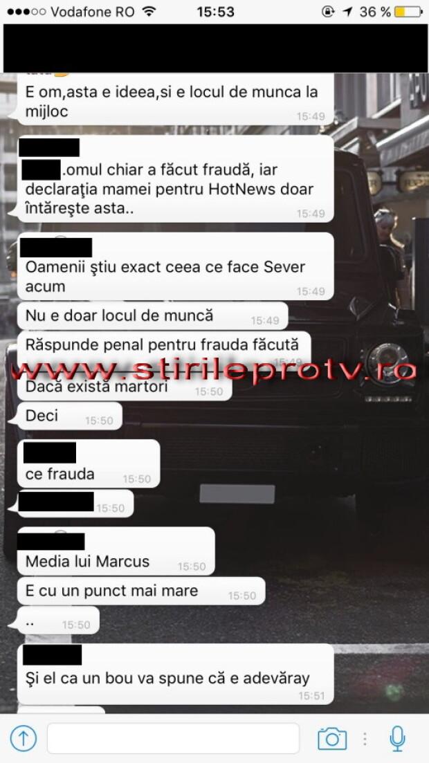 discutie WhatsApp
