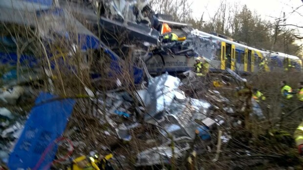 accident tren germania twitter