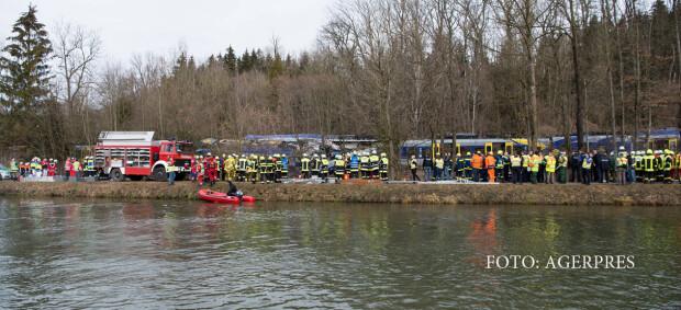 accident tren Germania Bad Aibling
