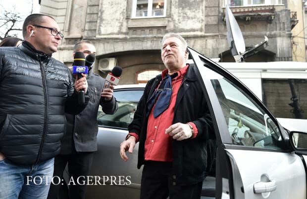 Deputatul PSD Madalin Voicu soseste la sediul Directiei Nationale Anticoruptie (DNA)