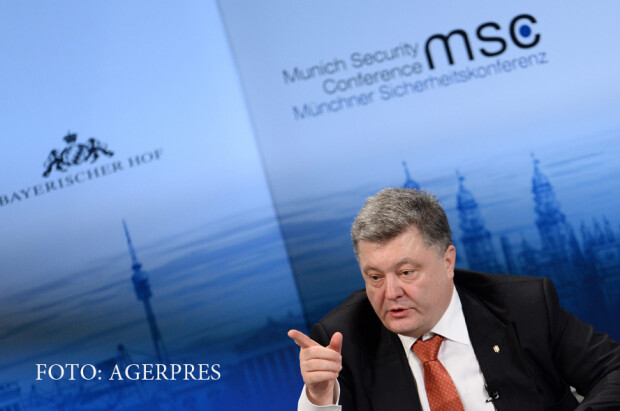 presedintele Ucrainei Petro Porosenko