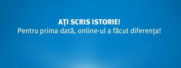 Klaus Iohannis mesaj online 2014