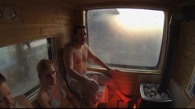 sauna mobila