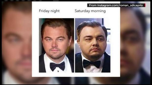 glume sosia lui Leo