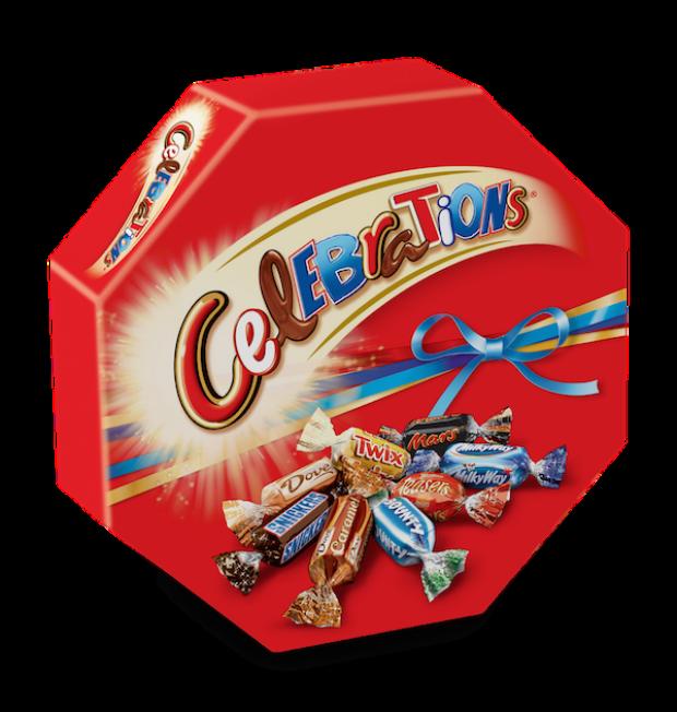 ciocolatele Celebrations