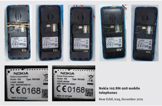 telefoane Nokia capturate in Irak folosite ca detonatoare