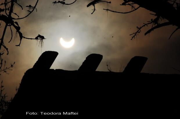 Eclipsa de Soare din Romania