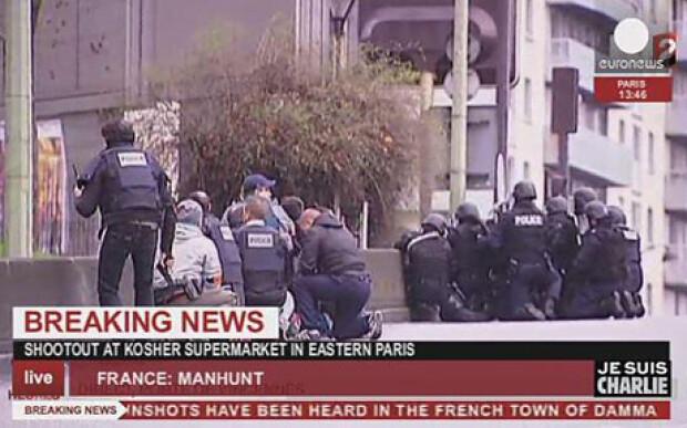 Atac armat Paris, 9 ianuarie