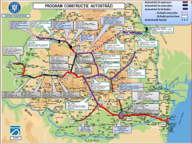 harti autostrazi guvern
