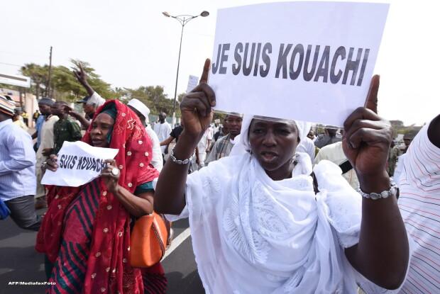Proteste fata de Charlie Hebdo