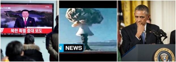 Test Coreea de Nord bomba cu hidrogen