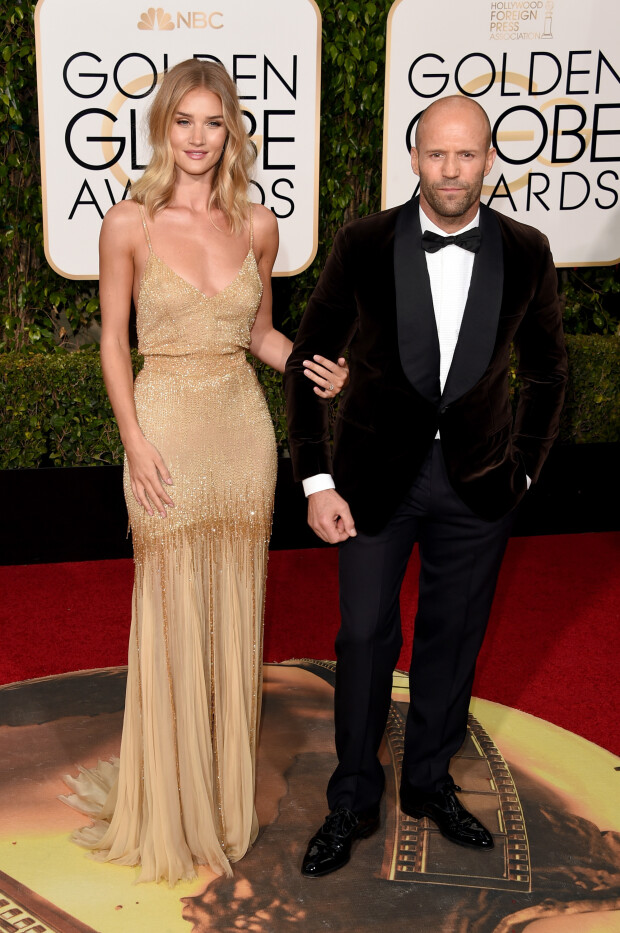 Rosie Huntington-Whiteley si Jason Statham