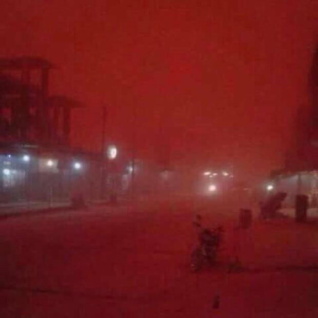 furtuna de nisip Deir-Ezzor